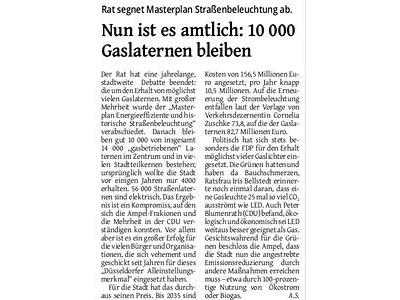 Westdeutsche Zeitung 15.05.2020